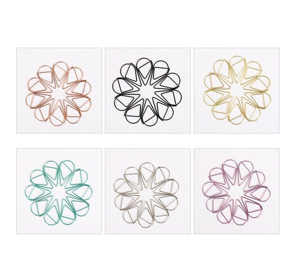 leisial graffette 25mm, 60pezzi, multicolore, colore casuale