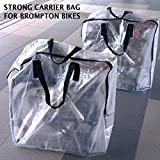 Carrier Bag for Brompton Bicycle Bike Carry Cover Travel Airplane
