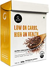 Grow Fit Ultra Low Carb Flour (500) | Keto Friendly | Packed with Vitamins | Sugar Control