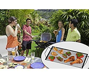 VASSOIO 2 IN 1 PER GRIGLIA PER BARBECUE O PIATTO DA PORTATA IN FERRO 40 X 22 CM BBQ COLLECTION. MWS