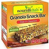 #7: Nourish Vitals Granola Snack Bar - Date & Cinnamon (5 Bars) - 250g