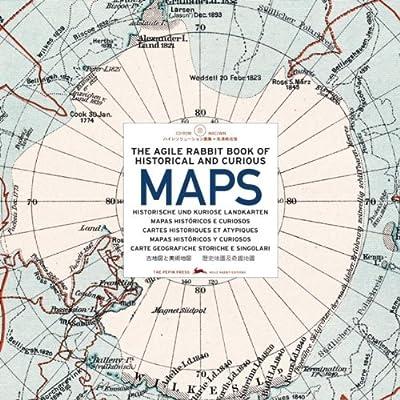 Historical & Curious MapThe agile rabbit book of historical and curious maps (1Cédérom)