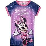 Disney Pijama Niña, Minnie Mouse Camison Niña de Manga Corta, Vestido Niña para Dormir, Ropa Niña de Estar en Casa, Regalos p