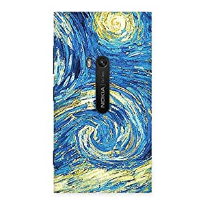 Enticing Modern Color Print Back Case Cover for Lumia 920