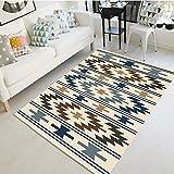 BAGEHUA Maßgeschneiderte Einfache Geometrische Teppich Wohnzimmer Couchtisch Schlafzimmer Nachttisch Teppich Studie Foyer Thin Wash Benutzerdefinierte, 120 × 160 cm, Jane