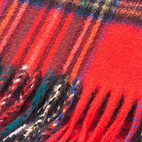 Lyle & Scott Écharpe 100% cachemire Tartan écossais STEWART ROYAL