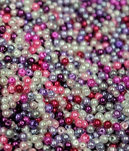 200-glass-pearl-beads-purple-pink-mix4mmuniversal-crafting-use