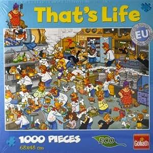 Puzzle 1000 pièces That's Life : Restauration