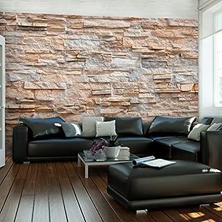Decomonkey | Fototapete Steinwand Steine 350x256 Cm XXL | Design Tapete |  Fototapeten | Tapeten |