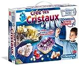 Clementoni - 62471-Crée tes cristaux-Jeu scientifique