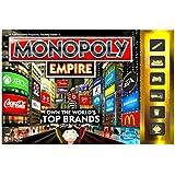 Monopoly Empire - Juego de mesa, de 2 a 4 jugadores, Inglés (importado)