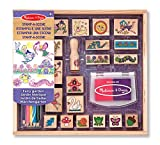 Melissa & Doug 12424 Stamp-a-Scene-Fairy Garden, Multicolor