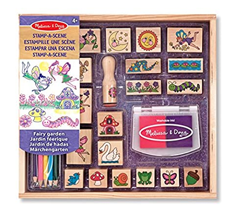 Melissa & Doug Stamp-a-Scene Stamp Pad: Fairy Garden - 20