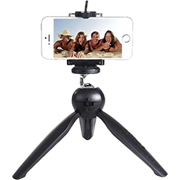 Rewy Brobeat Universal Mini Tripod For Digital Camera & All Android Phones - Black