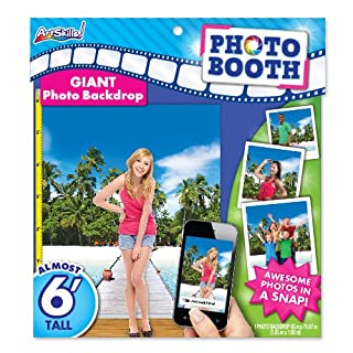 ArtSkills Giant Photo Backdrop, Beach, 65 x 70.87 Inches (PA-2249)