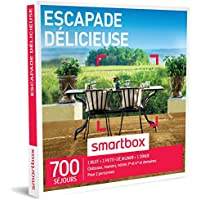 SMARTBOX - Coffret Cadeau - ESCAPADE DÉLICIEUSE - 700 SÉJOURS : vieilles bâtisses, manoirs, châteaux et hôtels de charme
