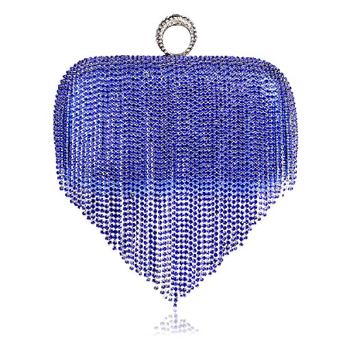 Nappa Signora Di Modo Di Lusso High-end Air Shoulder Bag Party Blue