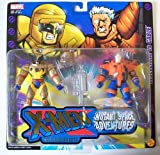 X-Men Classics: Mutant Space Adventures> Wolverine vs. Cable by Toys4Sale
