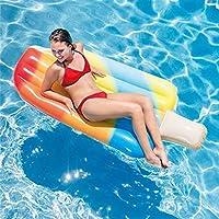 LLN Helado Flotante Fila Super Gran Anillo De Natación Agua Adulto Inflable Flotante Fila Cama Flotante