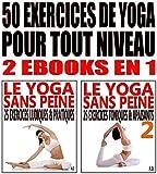 Image de 50 exercices de yoga pour tout niveau: 2 ebooks en 1