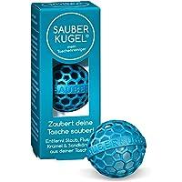 SAUBERKUGEL® für die Tasche   Petrol   Wiederverwendbarer Taschenreiniger für Handtasche, Schulranzen & Rucksäcke…