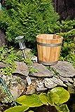 Maceta de jardín de madera para macetero, jardineras y macetas (roble) - Disponible en varios tamaños
