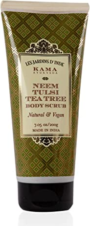 Kama Ayurveda Neem Tulsi Tea Tree Body Scrub, 200g