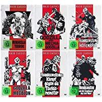 Die Godzilla Box Collection [ Kaiju Classics Edition ] [6 DVDs] Digital remastered