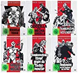 Die Godzilla Box Collection [ Kaiju Classics Edition ] [6 DVDs] Digital remastered