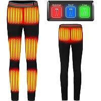 8 zone di riscaldamento migliorate: pantaloni riscaldati per donne e uomini, con riscaldamento elettrico USB a 3…