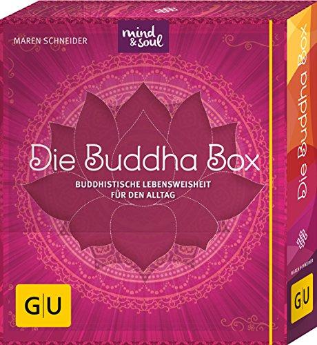 Die Buddha-Box: Buddhistische Lebensweisheit für den Alltag (GU Buch plus Körper, Geist & Seele)