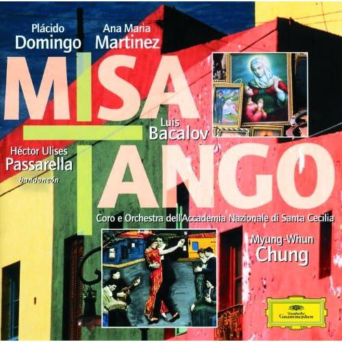 """Bacalov: Misa Tango per mezzo-soprano, Bandoneon solista, Coro misto e Orchestra - Credo Tempo di Milonga - Condombe """"Credo en unico Dios"""""""