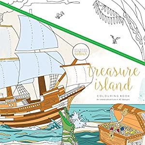 Kaisercraft - Libro para colorear Treasure Island (CL537)