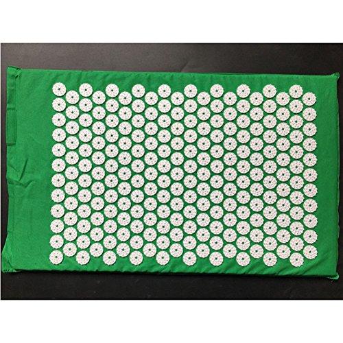 Akupressurmatte(68 x 42cm) bzw. Yantramatte, vielfältig verwendbare Nadelreizmatte, Matte für Entspannung und Stressabbau