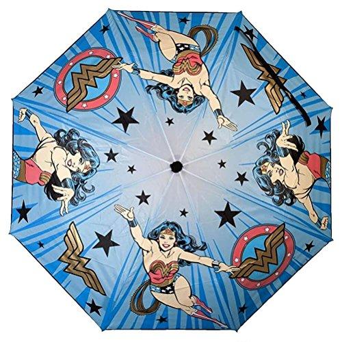 DC Comics Wonder Woman Liquid Reactive Umbrella