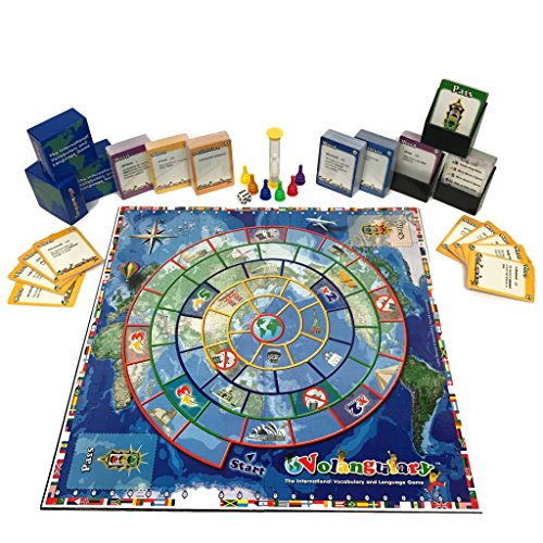 Volangulary 16133 Double Sided Board Game