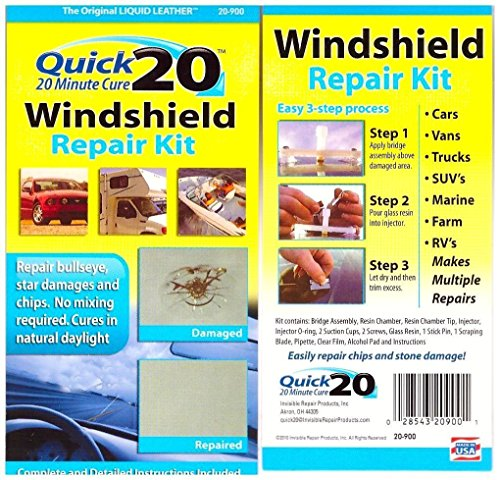 Preisvergleich Produktbild Winshield Repare Kit; Reparatursatz,  Pare brise-quick 20 Minute Cure