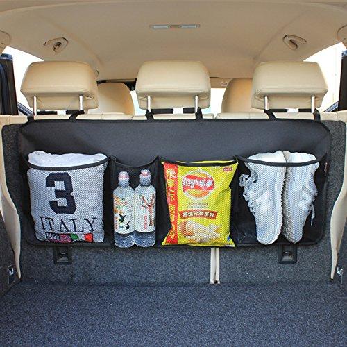 Kofferraum Veranstalter Kinder Spielzeug Hängenden Beutel Lange Aufbewahrungstasche Autoinnenraum-Fracht-Zusätze für SUV Vans Autos Trucks ()