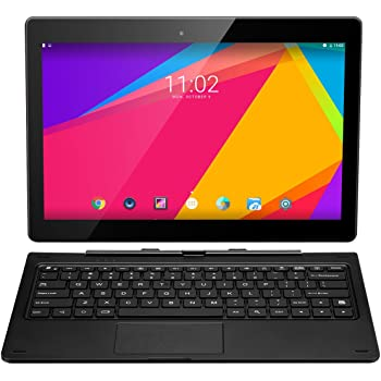 "Nextbook Ares 11A 2-in-1 Tablet PC 11.6"" IPS Intel Atom x5-Z8300 Quad Core Android 6.0, 2GB RAM 64GB ROM, 2MP+2MP Doppia Fotocamera, WIFI HDMI OTG G-sensor Bluetooth 4.0 con Tastiera, 9000mAh, Nero"