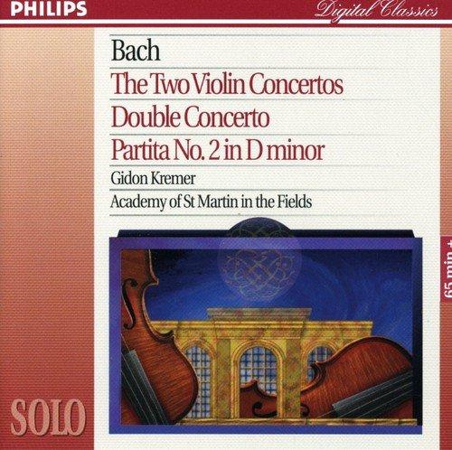 Bach, J.S.: The 2 Violin Concertos; Double Concerto; Partita No.2 in D minor Test