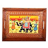 APKAMART Hand Crafted Traditional Wooden...