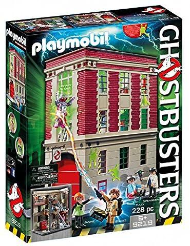 Playmobil - 9219 - Quartier Général Ghostbusters