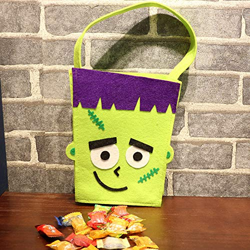 Zucker Kostüm Candy - VICKY-HOHO Halloween süße DIY Vliesstoffe Candy Bag Paket Kinder Party Lagerung Zucker