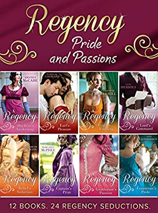book cover of Regency Pride and Passions