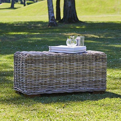 Bois Dessus Bois Dessous Table Basse rectangulaire en kubu Naturel
