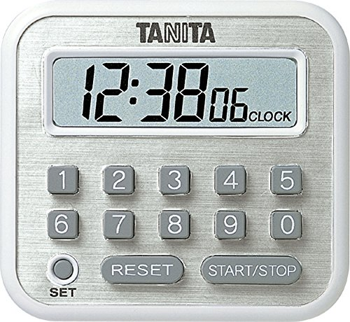 TD-375-WH White timer clock with long TANITA by N/A