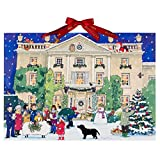 Alison Gardiner Adventskalender Highgrove House at Christmas Großes A3