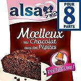 Alsa Moelleux Au Chocolat Avec Des Pépites - ( Prix Par Unité ) - Envoi Rapide Et Soignée