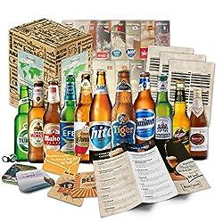 Sie erhalten Ihre ganz persönliche Weltreise durch die Biergenüsse unserer Erde. Genießen Sie Bier aus Fernost oder einem leckeren Bier aus den USA. Die Boxiland Bier Box zaubert jedem ein Lächeln ins Gesicht. Sie können die Box, wie sie diese erhalt...