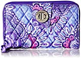 Best Vera Bradley Lilacs - Vera Bradley Turnlock Wallet, Lilac Tapestry, One Size Review